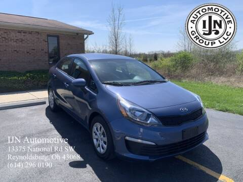 2016 Kia Rio for sale at IJN Automotive Group LLC in Reynoldsburg OH