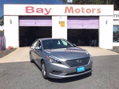 2016 Hyundai Sonata for sale at Bay Motors Inc in Baltimore MD