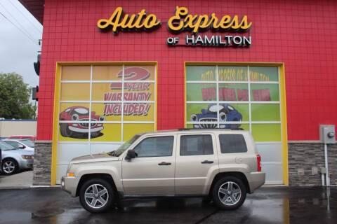 2009 Jeep Patriot for sale at AUTO EXPRESS OF HAMILTON LLC in Hamilton OH