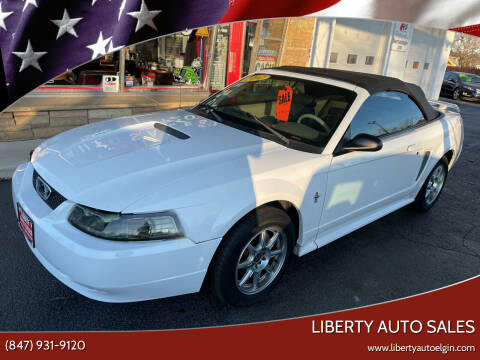 2002 Ford Mustang for sale at Liberty Auto Sales in Elgin IL
