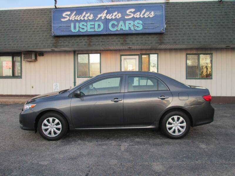 2009 Toyota Corolla for sale at SHULTS AUTO SALES INC. in Crystal Lake IL
