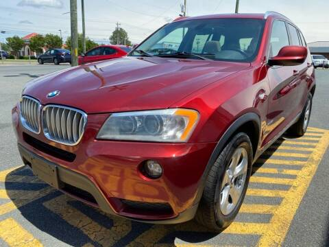 2011 BMW X3 for sale at Auto America - Monroe in Monroe NC