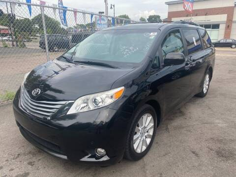 2012 Toyota Sienna for sale at Polonia Auto Sales and Service in Hyde Park MA