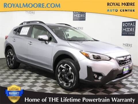 2021 Subaru Crosstrek for sale at Royal Moore Custom Finance in Hillsboro OR