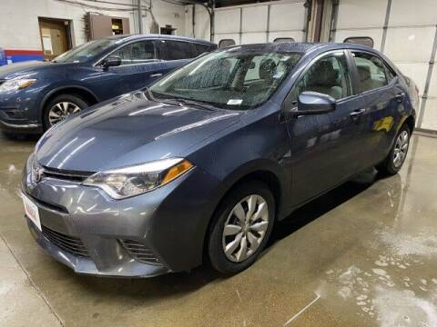 2016 Toyota Corolla for sale at Sonias Auto Sales in Worcester MA