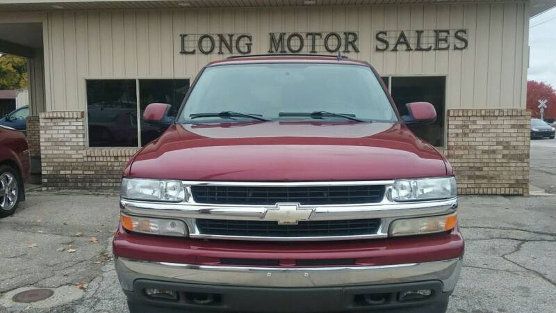 2006 Chevrolet Suburban for sale at Long Motor Sales in Tecumseh MI