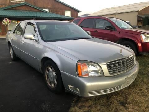 2000 Cadillac DeVille for sale at Coeur Auto Sales in Hayden ID