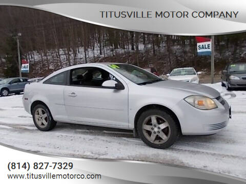 2009 Chevrolet Cobalt for sale at Titusville Motor Company in Titusville PA
