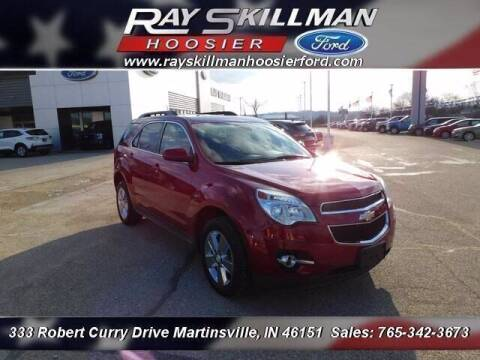 2014 Chevrolet Equinox for sale at Ray Skillman Hoosier Ford in Martinsville IN