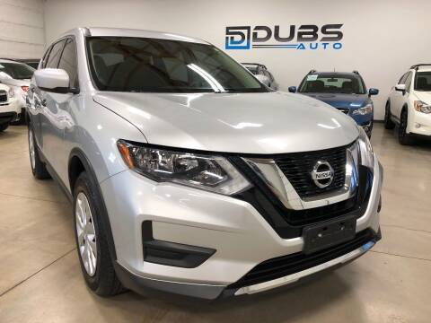 2017 Nissan Rogue for sale at DUBS AUTO LLC in Clearfield UT