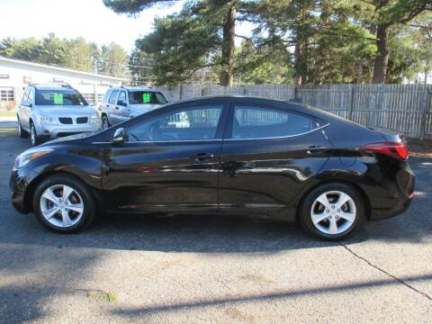 2016 Hyundai Elantra for sale at Home Street Auto Sales in Mishawaka IN