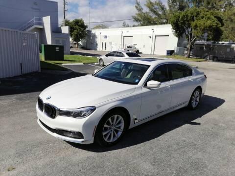 2018 BMW 7 Series for sale at Best Price Car Dealer in Hallandale Beach FL