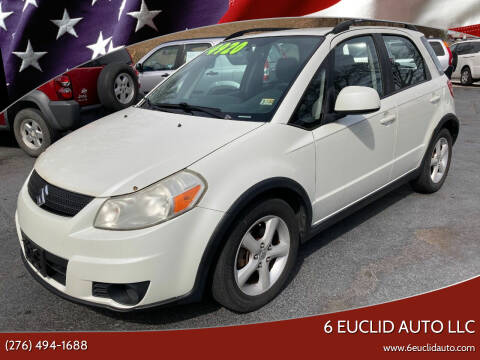 2009 Suzuki SX4 Crossover for sale at 6 Euclid Auto LLC in Bristol VA