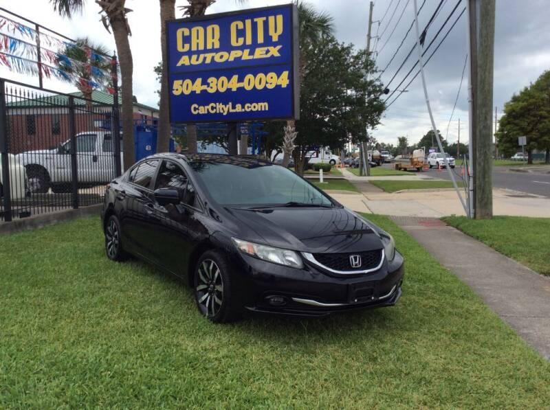 2015 Honda Civic for sale at Car City Autoplex in Metairie LA