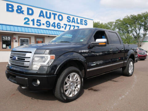2014 Ford F-150 for sale at B & D Auto Sales Inc. in Fairless Hills PA