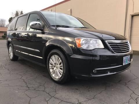 2012 Chrysler Town and Country for sale at Salem Auto Market in Salem OR
