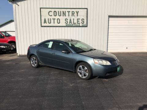 2005 Pontiac G6 for sale at COUNTRY AUTO SALES LLC in Greenville OH