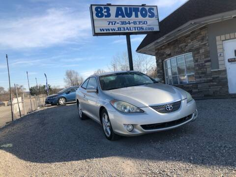 2005 Toyota Camry Solara for sale at 83 Autos in York PA