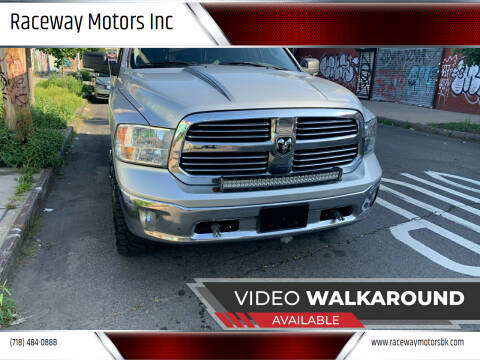 2013 RAM Ram Pickup 1500 for sale at Raceway Motors Inc in Brooklyn NY