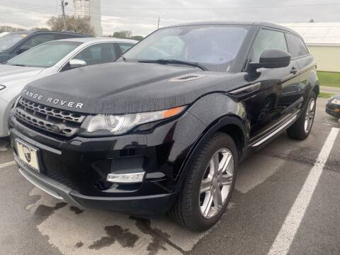 2015 Land Rover Range Rover Evoque Coupe for sale at Coast to Coast Imports in Fishers IN