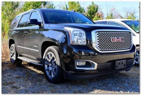 2017 GMC Yukon for sale at WHITE MOTORS INC in Roanoke Rapids NC