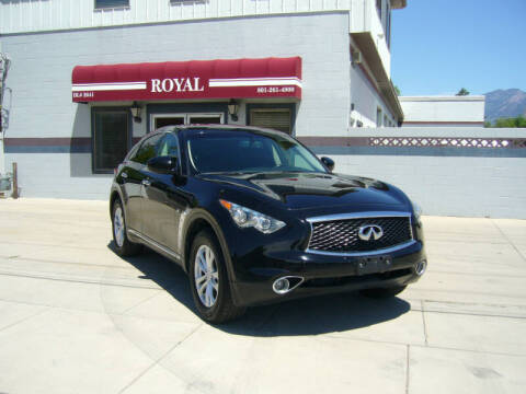 2017 Infiniti QX70 for sale at Royal Auto Inc in Murray UT
