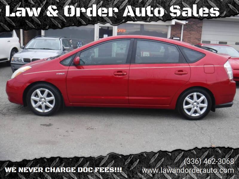 2009 Toyota Prius for sale at Law & Order Auto Sales in Pilot Mountain NC