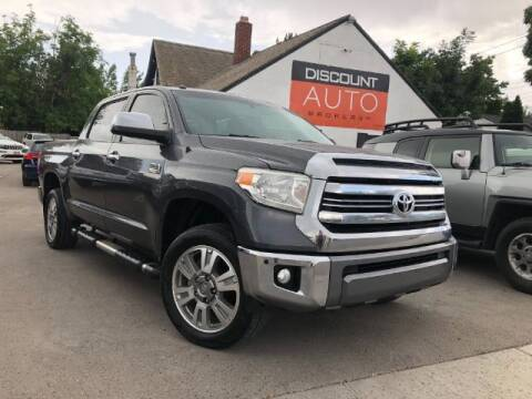2016 Toyota Tundra for sale at Discount Auto Brokers Inc. in Lehi UT