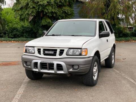 2001 Isuzu Rodeo Sport for sale at Q Motors in Lakewood WA