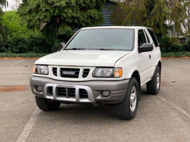 2001 Isuzu Rodeo Sport for sale at Q Motors in Tacoma WA