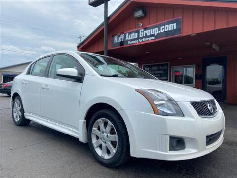 2010 Nissan Sentra for sale at HUFF AUTO GROUP in Jackson MI