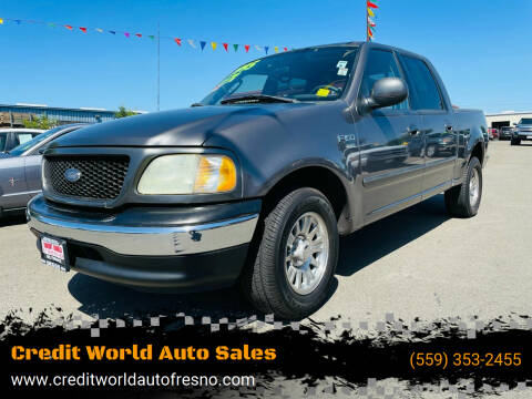 2003 Ford F-150 for sale at Credit World Auto Sales in Fresno CA