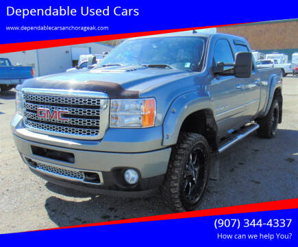 2012 GMC Sierra 3500HD for sale at Dependable Used Cars in Anchorage AK