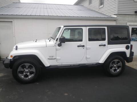2016 Jeep Wrangler Unlimited for sale at VICTORY AUTO in Lewistown PA