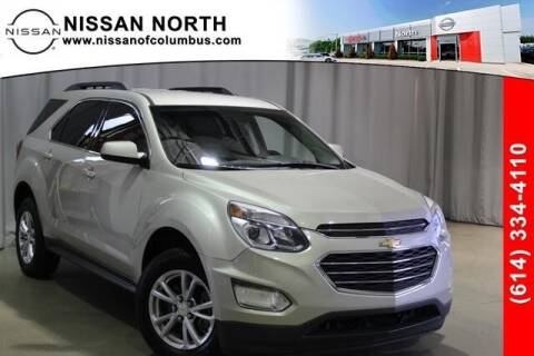 2016 Chevrolet Equinox for sale at Auto Center of Columbus in Columbus OH