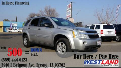 2008 Chevrolet Equinox for sale at Westland Auto Sales in Fresno CA
