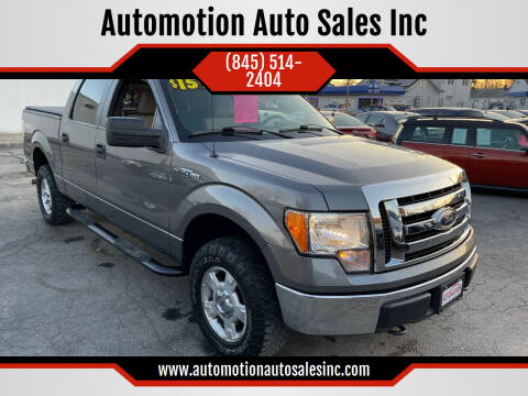 2010 Ford F-150 for sale at Automotion Auto Sales Inc in Kingston NY