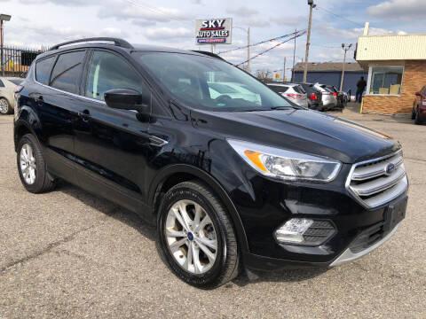 2018 Ford Escape for sale at SKY AUTO SALES in Detroit MI