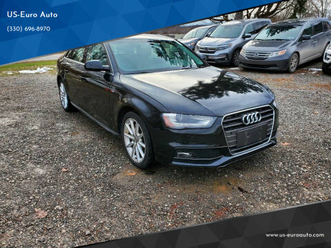 2015 Audi A4 for sale at US-Euro Auto in Burton OH