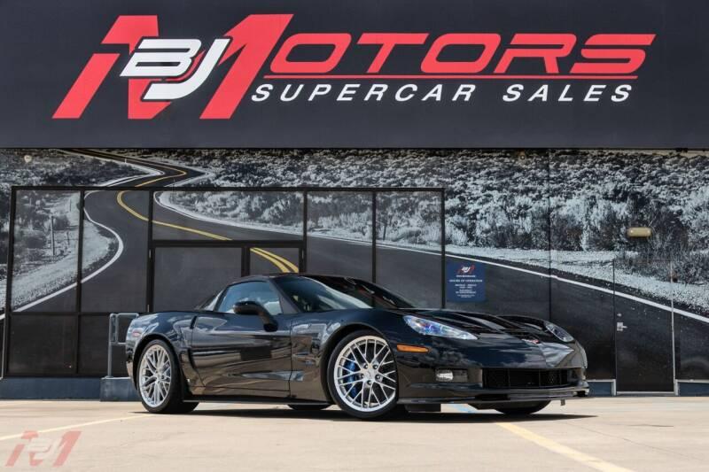 2009 Chevrolet Corvette for sale at BJ Motors in Tomball TX
