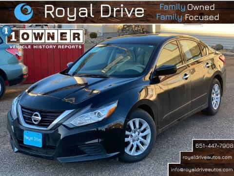 2017 Nissan Altima for sale at Royal Drive in Newport MN