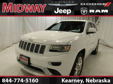 2015 Jeep Grand Cherokee for sale at MIDWAY CHRYSLER DODGE JEEP RAM in Kearney NE