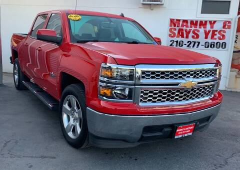 2014 Chevrolet Silverado 1500 for sale at Manny G Motors in San Antonio TX