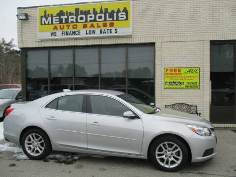 2016 Chevrolet Malibu Limited for sale at Metropolis Auto Sales in Pelham NH