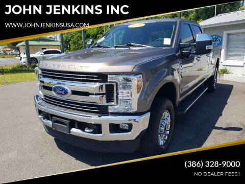 2019 Ford F-350 Super Duty for sale at JOHN JENKINS INC in Palatka FL