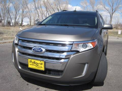 2013 Ford Edge for sale at Pollard Brothers Motors in Montrose CO