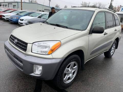 2003 Toyota RAV4 for sale at RABI AUTO SALES LLC in Garden City ID
