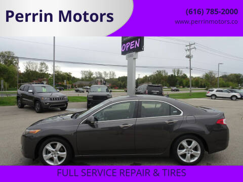 2009 Acura TSX for sale at Perrin Motors in Comstock Park MI