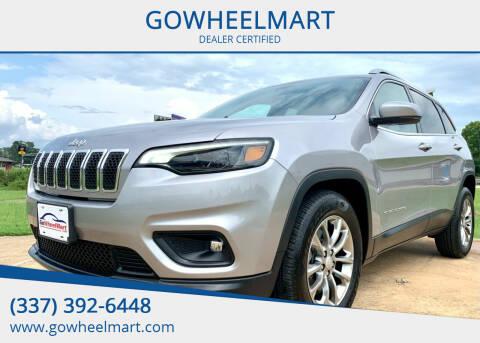 2020 Jeep Cherokee for sale at GOWHEELMART in Leesville LA