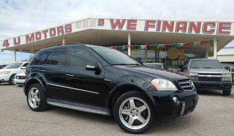 2008 Mercedes-Benz M-Class for sale at 4 U MOTORS in El Paso TX